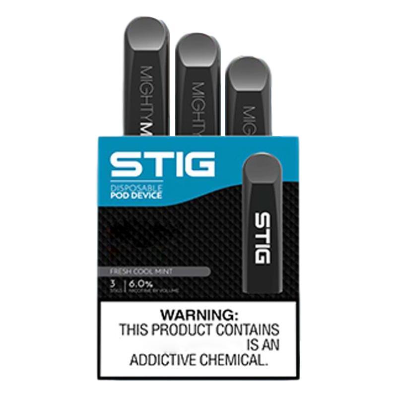 100% Original Cup Version Vgod Stig Disposable Vapes V god Stig 270mAh Prefilled 1.2ml Pods Capacity Disposable Vape 8Colors