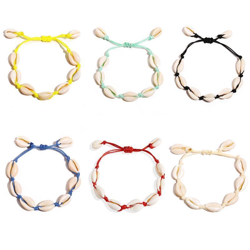 Braccialetto a mano Zhouyang Braccialetto a mano Braccialetto a mano 6 colori Sandbeach Fashion Jewelry Kah127