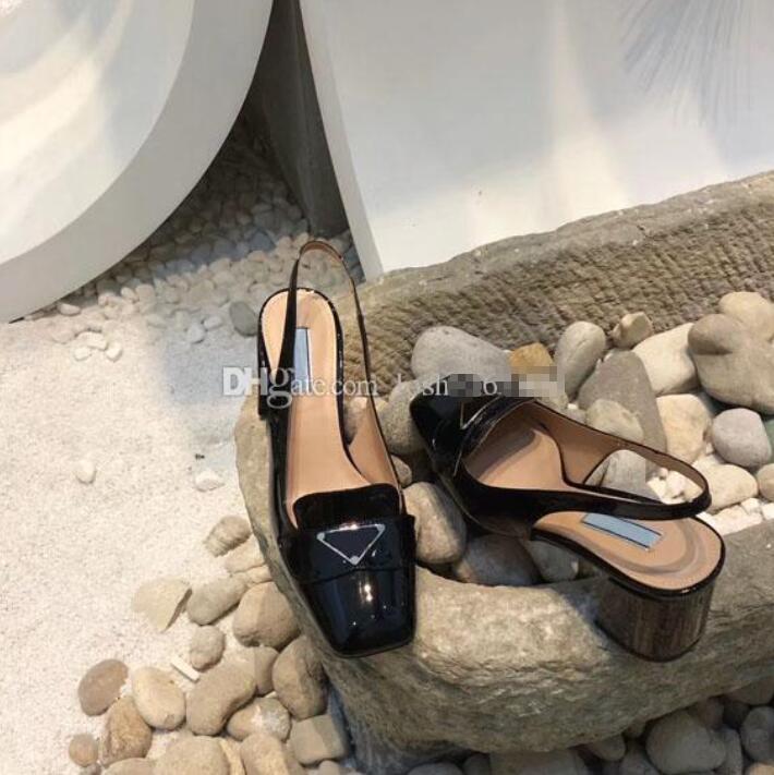 2020 son high-end elbise ayakkabı moda klasik düğün ayakkabı kadın siyah parti moda düz üst lüks tasarımcı ayakkabı gerçek deri sanda
