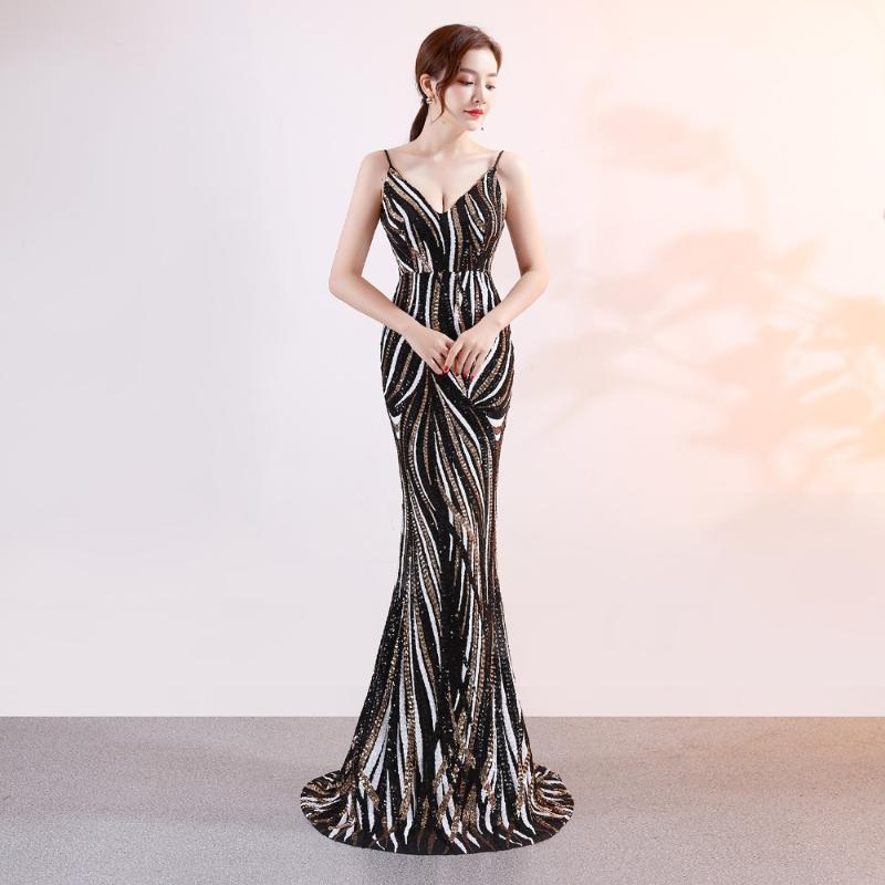 ملابس عرقية أسود مثير أنيق أكمام اللباس خمر ضئيلة مساء شيونغسام الخامس الرقبة رايون تشيباو جودة عالية الطابق طول vestido S-XL