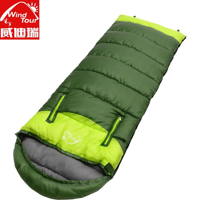 Schlafende erwachsene outdoor herbst und winter verdickte warme innen noor lunch break camping zwei paar paar handgenähte baumwolltasche