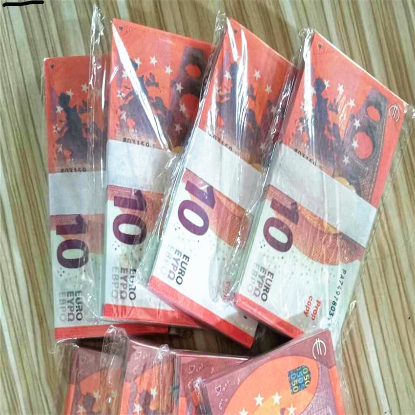 e-commerce transfrontalier 10 usine Euross vend des billets de banque, billets de banque, aides à l'enseignement des jouets, argent faux