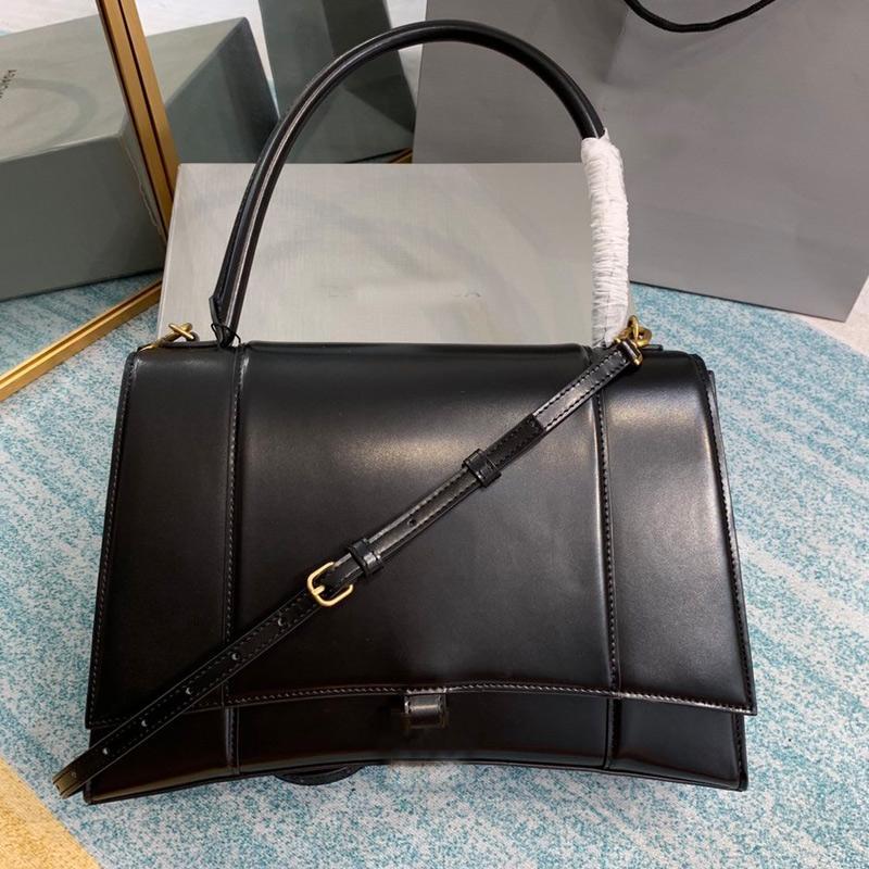 Classic Hourglass Shape Alligator Handbags Genuine leather Belt Shoulder Bags women Hands Bags Purse Wallet Clutch Messenger Sling Bags