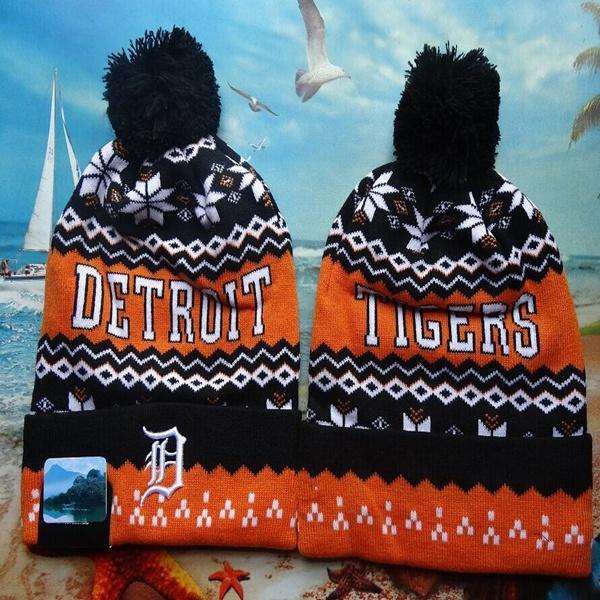 Hot Sale! Newest Winter Beanie Knitted Hats Sports Teams Baseball Football Basketball Beanies Caps Women& Men Pom Fashion Winter Top Caps