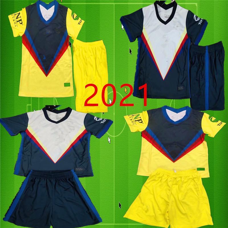 قميص 2020/21 الرجال كلوب أمريكا GK لكرة القدم الفانيلة 20 21 F. VIÑAS HENRY G. OCHOA رودريغيز أمريكا جيرسي GIOVANI حارس مرمى كرة القدم