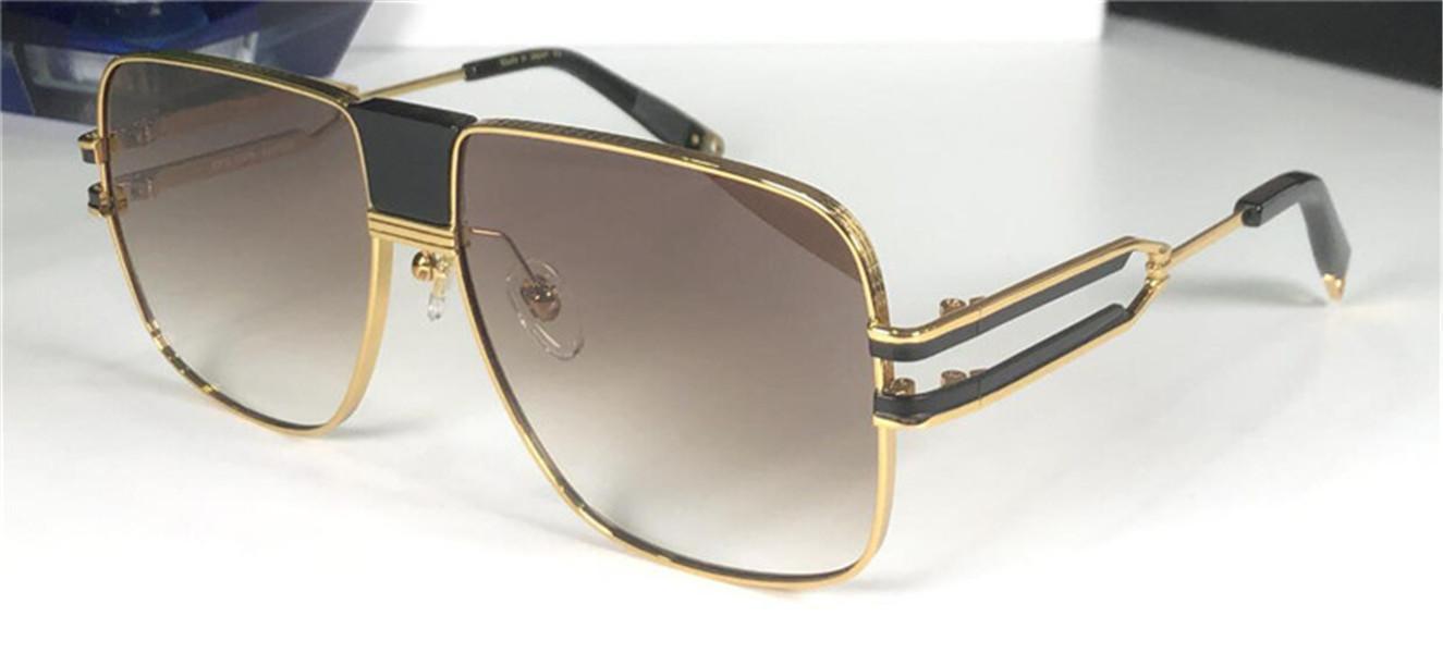 Новый дизайн моды очки 1914 квадратных простой металлический каркас и щедры защита стиль UV400 очки высочайшего качества с коробкой