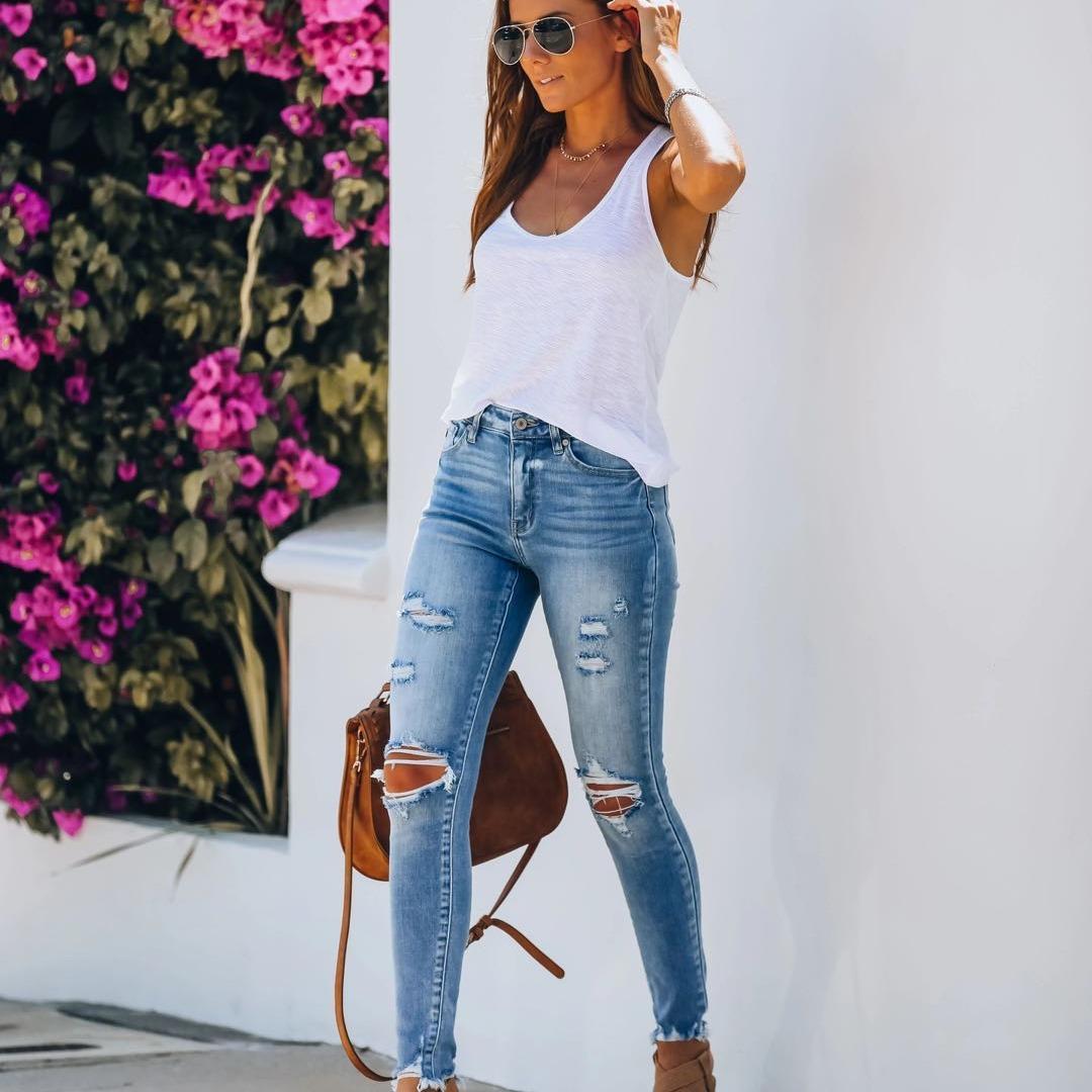 plus size women designer jeans femme Simplicity pants pants trousers mom Women denim Clothes woman womans clothes new female QM082