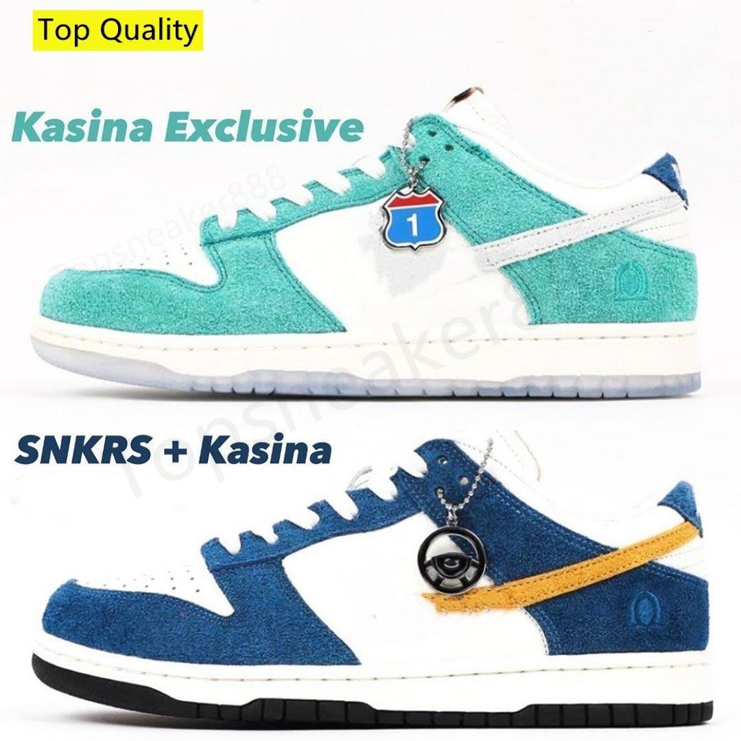 أعلى جودة Kasina 80S الحافلات وطريق تسجيل حذاء رياضة منخفض حذاء عرضي G مع صندوق حجم 36-46