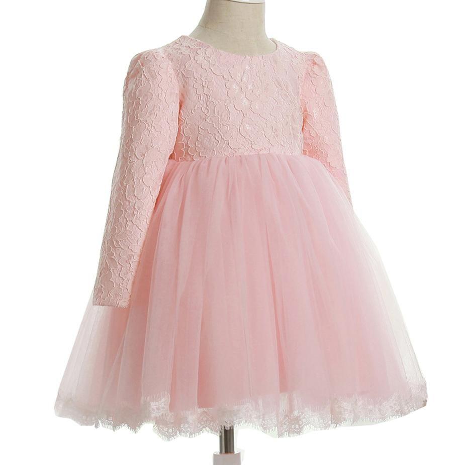 Девушки кружевное платье Элегантный Новый год Принцесса Детская вечеринка Платье Свадебное платье Детские платья для девочек День рождения Платье Вестдовый носить