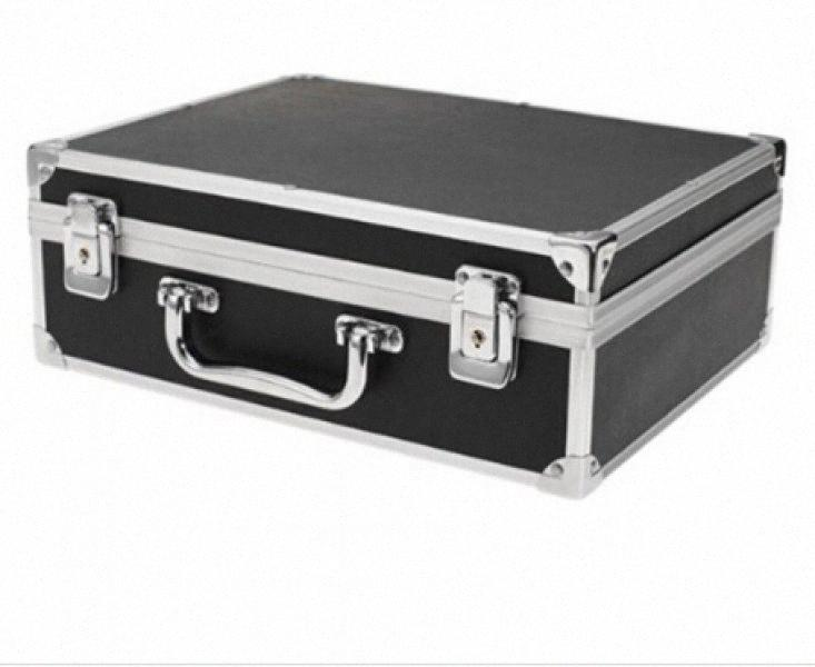 Wholesale Sodial Large Tattoo Kit Carrying Case With Lock Black Toolbox Dedicated Work Outside The Box Tattoo Equipment rOg0#