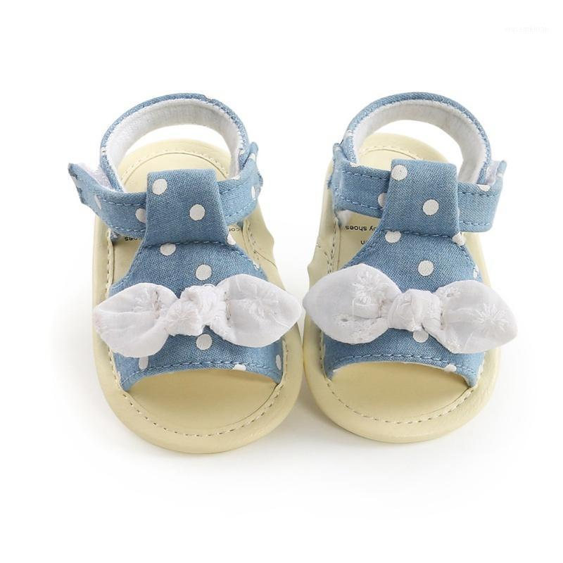 Sandalias Zapatos de niña elegante Polka Dot Toddler Princess Antideslizante Chicas Niñas Sandalias de verano1