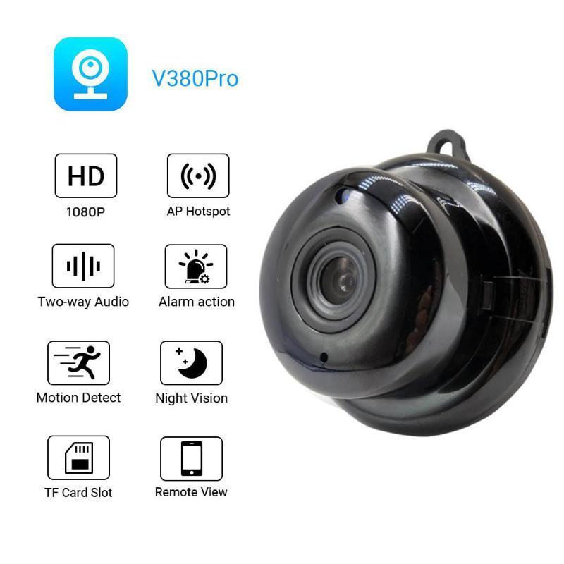 Mini Wifi Kamera Smart-Auto-IR-Cut-Nachtsicht-HD Video-Bewegungs-Sensor Geheimnis Micro Cam IP P2P Sicherheit Startseite Surveillance Webcam