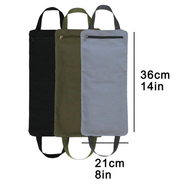 Faltbare Gefüllt Yoga Sandbag mit zwei Handgriff für Yoga Gewichte und Widerstand PXPF