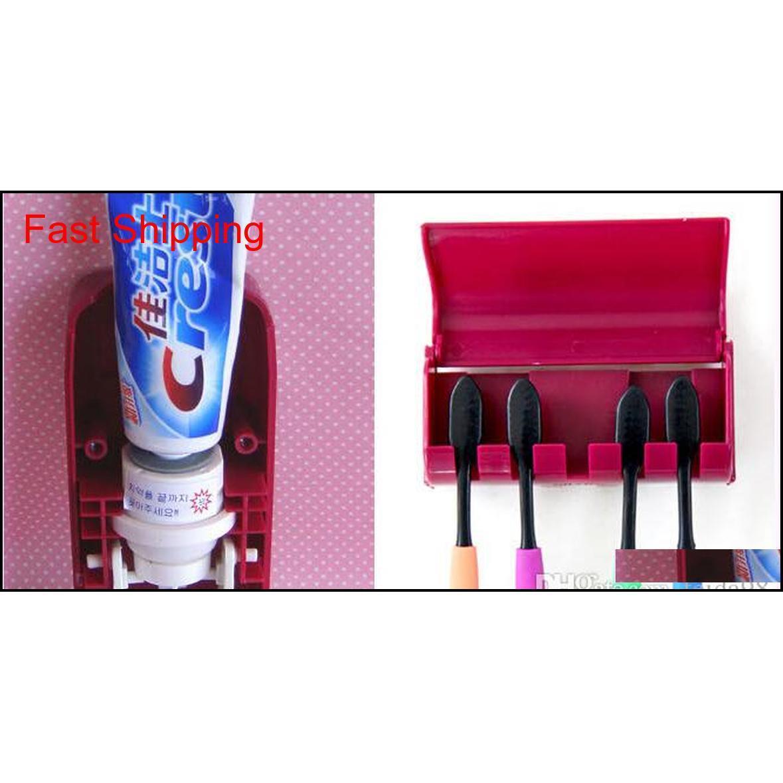Freies Verschiffen NEUE MATIC-Zahnpasta-Dispenser-Zahnbürste-Halter-Sets, Zahnbürstenfamilie Sets Whi Qylhtk new_dhbest
