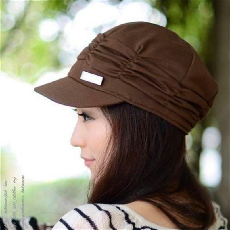 1 PC Lady Mode Chapeau Automne Hiver chaud tricot Crochet Slouch Bonnet Baggy Caps de haute qualité en coton tricoté cadeau Nouveau Arrivée