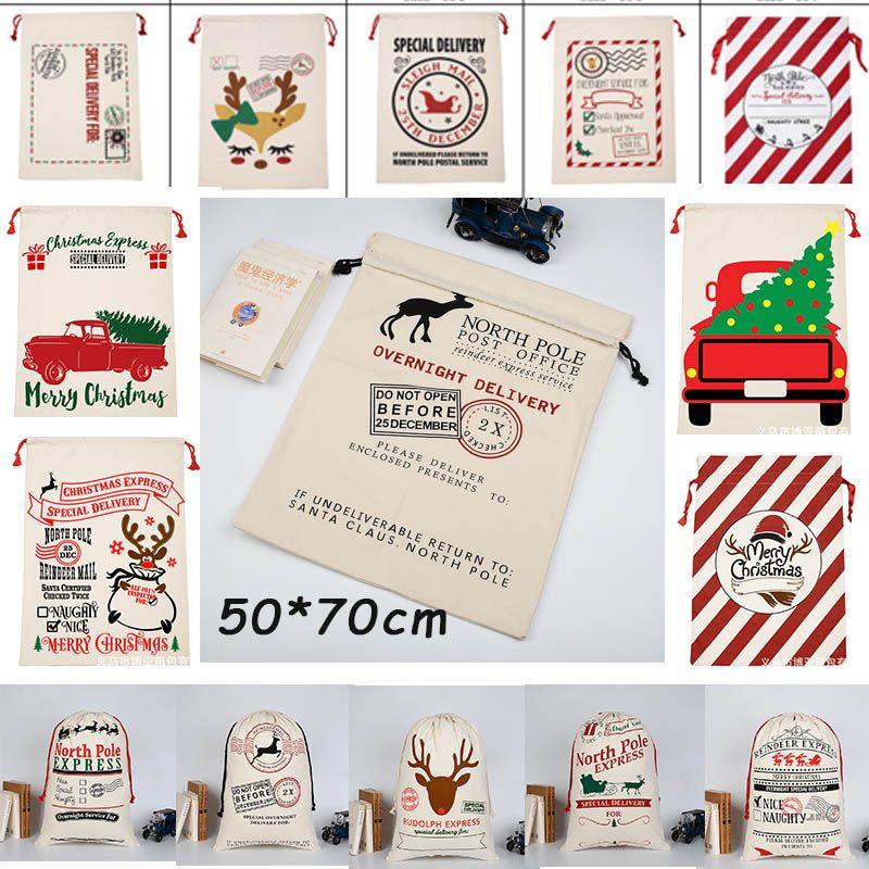 Üreticiler tedarik fabrika fiyat ücretsiz kargo büyük Noel Baba çanta geyik yılbaşı süsleri gadget 50 70 cm sıcak satış ürün hızlı