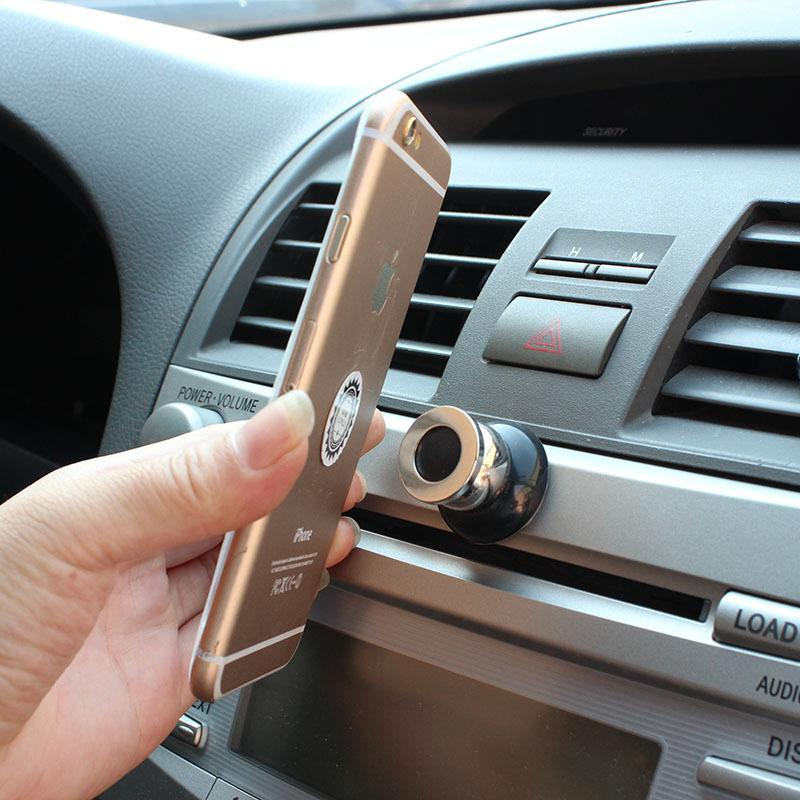 360 Degree Universal Car Phone Holder Magnetic Air Vent Mount Car Mobile Phone Holder Stand Mobile Phone Accessories