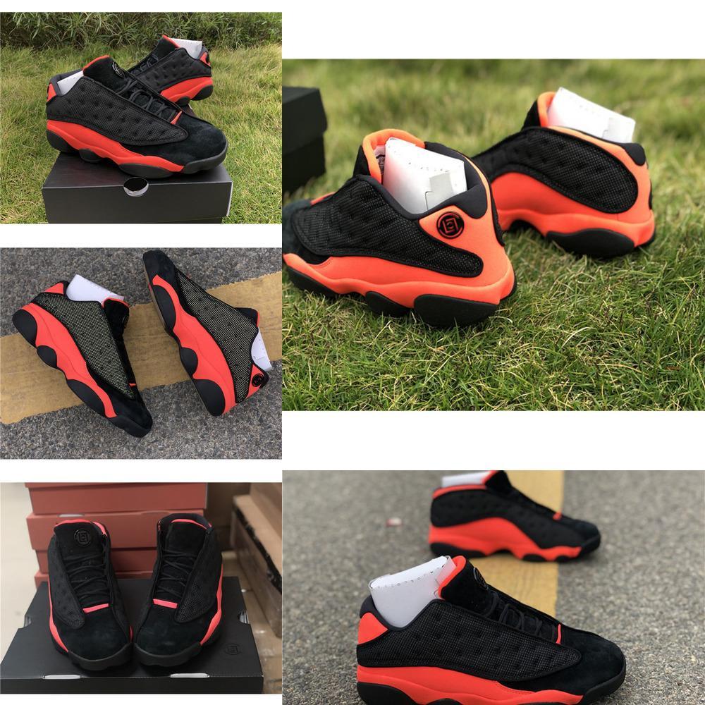 x 13 Cabot Bas Low Black infrarouge 23 Chaussures de basketball pour hommes de haute qualité 13s Sneakers de sport pour femmes 3m hommes avec boîte