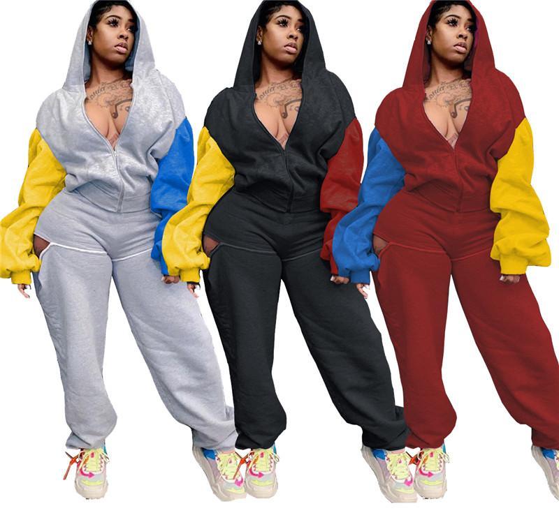 рынк два кусок набор свободный костюм с длинным рукавом нарядах Жакеты Брюки тощий рубашка колготки спортивный костюм пальто брюки горячей продажи klw5508