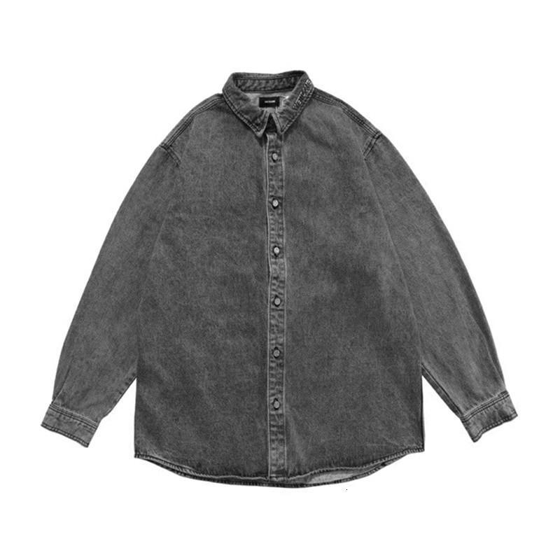 2021 Yeni FW We11done NY Ince Denim Ceket Erkek Kadın Streetwear Welldone Kovboy erkek Jean Ceketler QX19