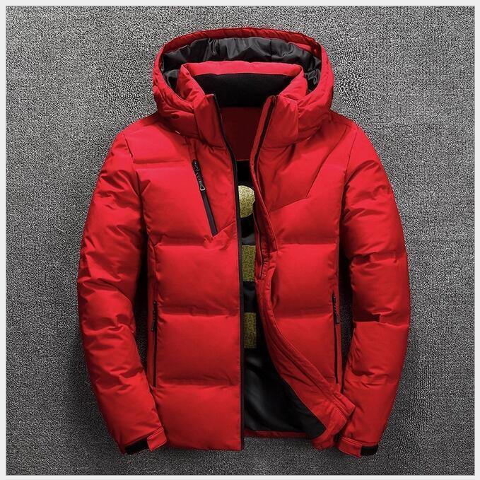 Invierno por la chaqueta para los hombres nuevo estilo corto invierno de los hombres de invierno acolchada chaqueta abajo aclaramiento joven pato blanco abajo capa caliente