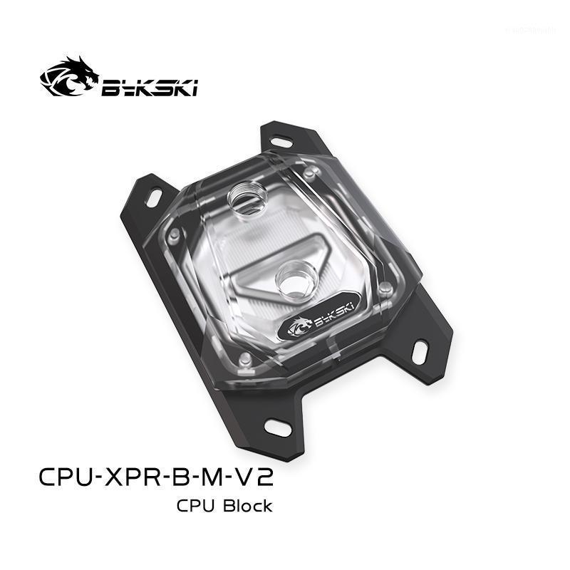 BYKSKI CPU Eau refroidisseur d'eau pour Ryzen 5 3600 Ryzen 5/3/7 Am4 / Am3 Bloc d'eau BLOC DE CPU SUPPORT SWCY BARTOTHOARBOARD RADIATOR1