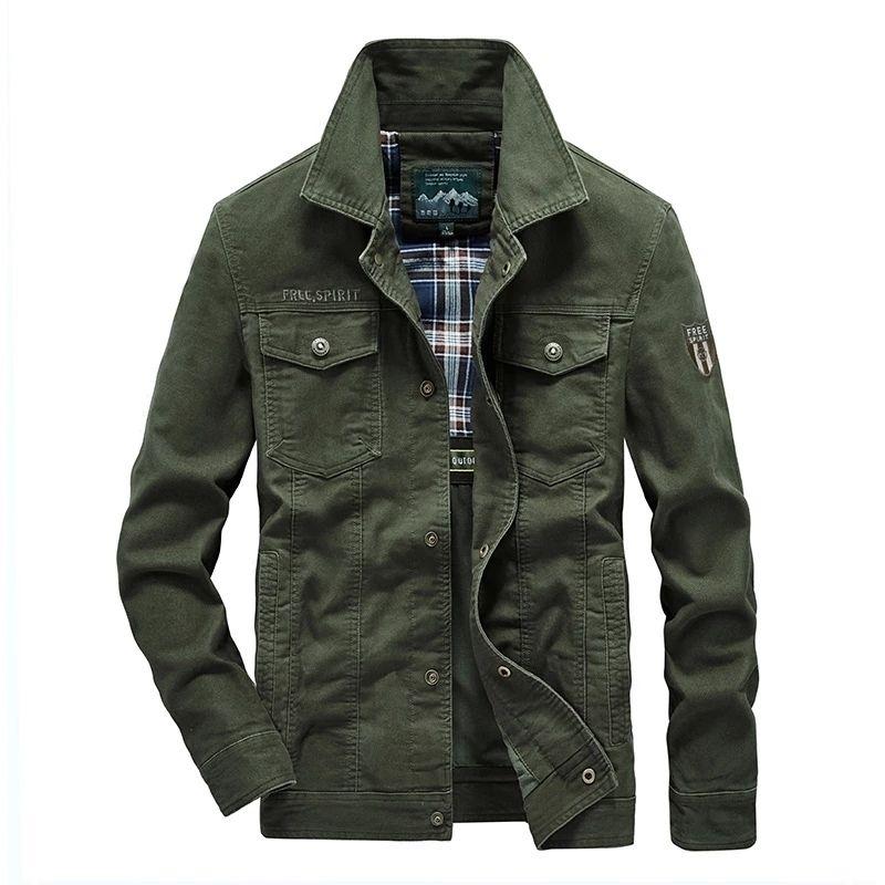 Plus la taille 7XL 8XL Jacket Military Hommes Quality Spring Coton Spring Automne Mens Vestes Multi-Poches Casual Coats Casual Cheastas Hombre 201201