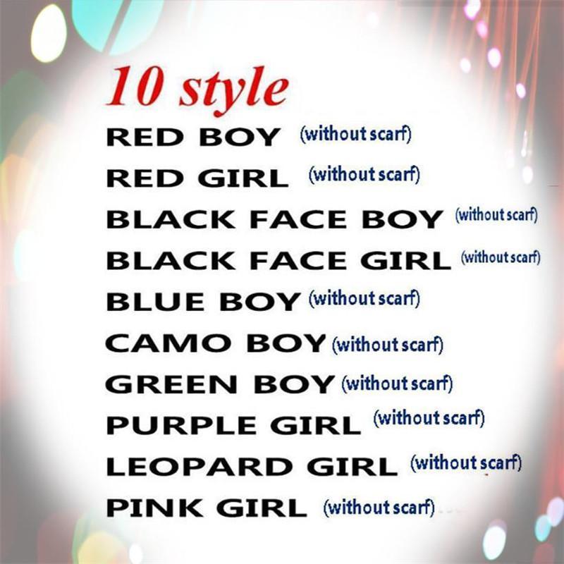 10 stili giocattoli Christmas Elf Doll peluche Elfi Babbo bambole vestiti sullo scaffale per il regalo di Natale peluche giocattoli bambola il trasporto libero
