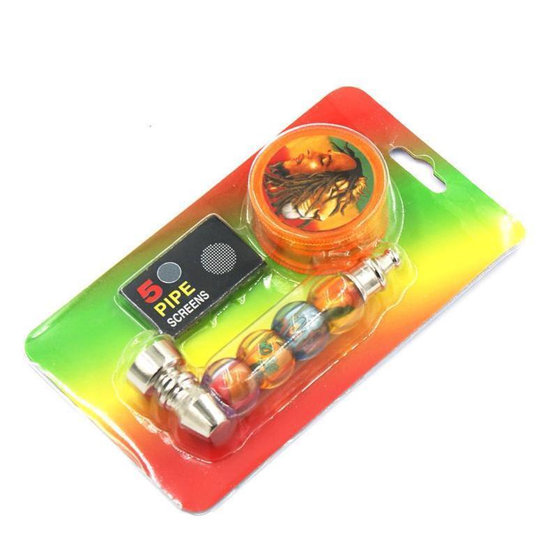 1 Impostazione del fumo con 1 pz Tabacco Herb Grovvermesh Schermo Pocket Schermo di erba Accessori fumatori DHL Fas Jllsfs Lucky2005