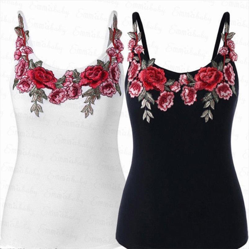 Mode Women Women Tops Chemise d'été décontractée Noir Solid Tank Plus Blanc T Tops Taille M 3XL Drop Shipping DDHHHO