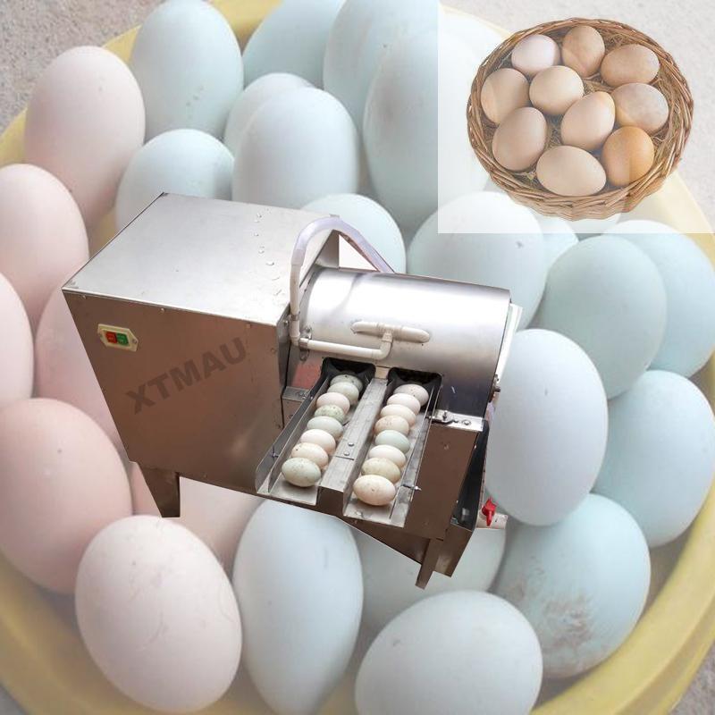 Двухрядное Электрического яйцо стиральной машина курицы утка гусь яйцо машин яйцо очиститель стиральной машина птицефабрика оборудование