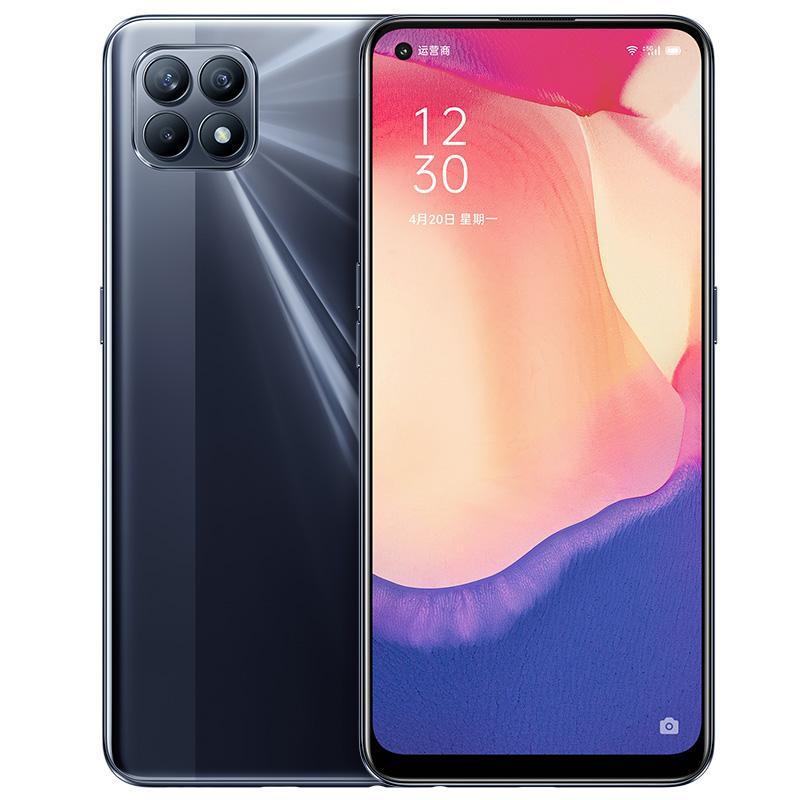 Оригинал Оппо Рено 4 SE 5G Мобильный телефон 8GB RAM 128GB 256GB диск МТК 720 окта Ядро Android-6,43 дюйма 48.0MP А.И. Лицо ID отпечатков пальцев сотовый телефон