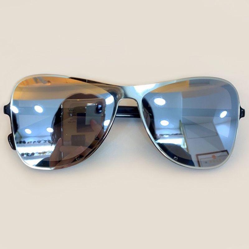 Уникальный металлический каркас Женщины Brand Design Красочные женские очки ретро мужчин очки с оригинальной коробке UV400