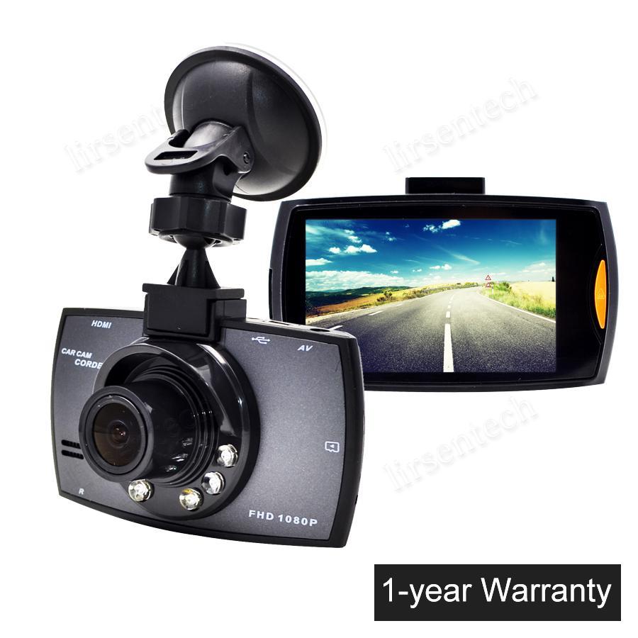 2,7 pollici Touch Screen Auto LCD Telecamera G30 Car DVR Dash Cam Completa HD 1080P Videocamera video con visione notturno Recording G-Sensor