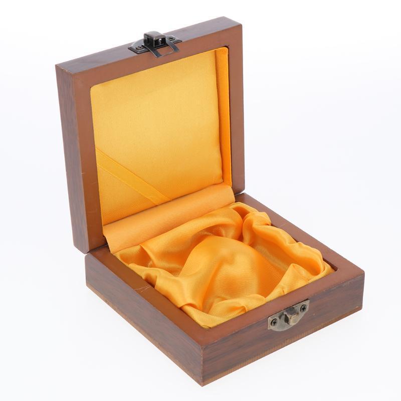 Bolsas de joyería, bolsas Caja de madera vintage para collar de gabinete Pulsera Pantalla de almacenamiento