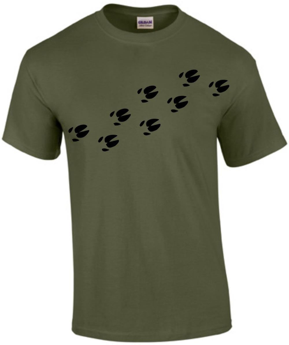 Sanglier Paws Hunter Hunting 2019 Nouveau mode d'été Nouveau design Coton Homme Tee shirt Design T le sport en ligne Sweat à capuche à capuche