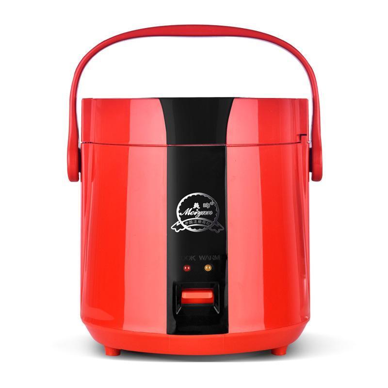 1,2L almoço caixa elétrica mini arroz fogão antiaderente multi-função de arroz elétrico fogão de calor preservação de calor cozinha