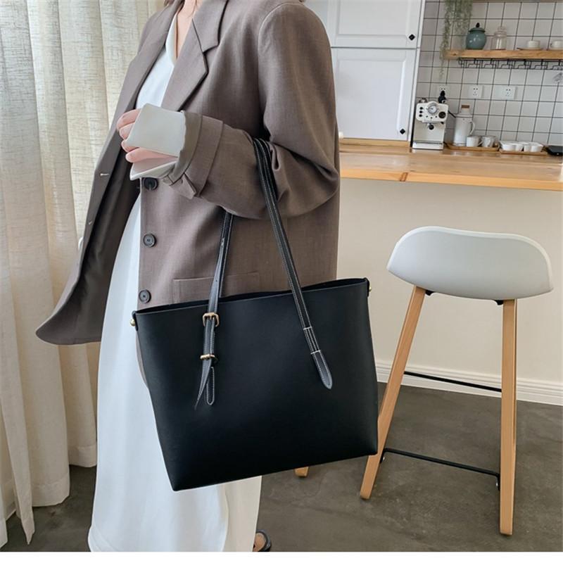 Bolso para mujer de moda 2020 bolsos de cuero de la PU de las mujeres Llamas de lujo Bolsos de mano bolsas de bolsillo bolsillo de bolsillo compuesto bagtote sacud bols