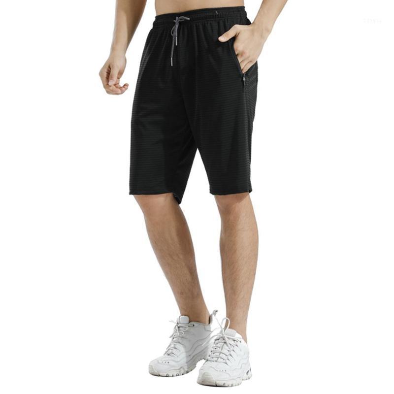 Männer Atmungsaktive Schnelltrocknung Kordelzug Taschen Training Sport Laufen Shorts Taschen Design Schnelltrocknung Kordelzug Shorts1