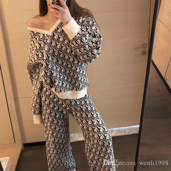 İlkbahar ve sonbahar 2020 yeni giysiler orijinal gece tarzı büyük En Triko boy yağ mm uzun kollu kazak kadın ince gevşek kadınlar