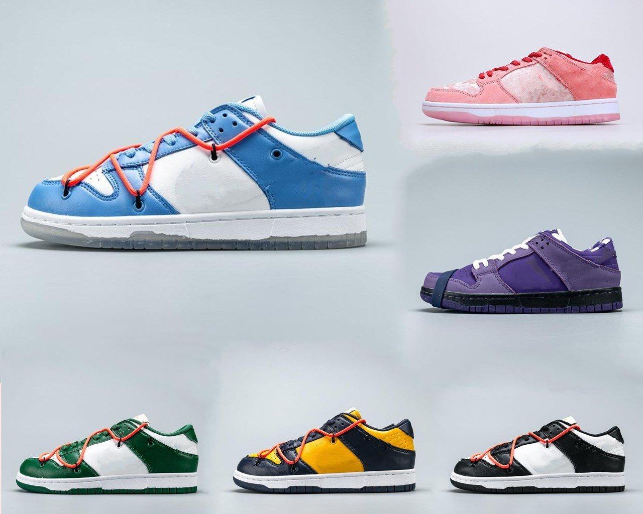 2021 Nova Moda Boutique SB Low Pro QS Mulheres Mens Sapatos Casuais e Lazer Skates Sapatos
