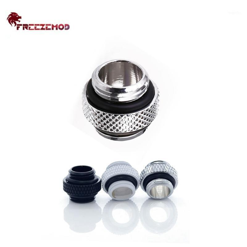 """FREEZEMOD HDS-DT10B Mini Double Male Adapter Fitting Dual G1/4"""" Thread Connection External MOD Computer pc water cooler1"""