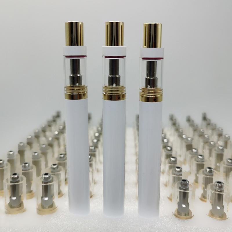 Disposable Vape Pen 10 Colors E Cigarettes 350mah Vape Battery Capacity 0.5ml Pod Vaporizer Pen Instock Free Shipping New Vapes Packaging