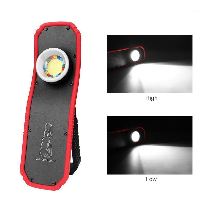 Fangnymph USB recarregável led trabalho luz portátil gancho gancho camping carro reparar oficina de emergência