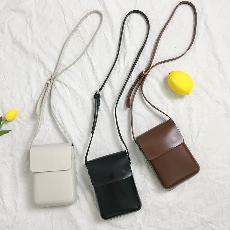 HBP KOREA INS Bolsa de teléfono móvil Female Messenger Bolsas NUEVO marea moda salvaje bolsas verticales bolsas de hombro pequeño