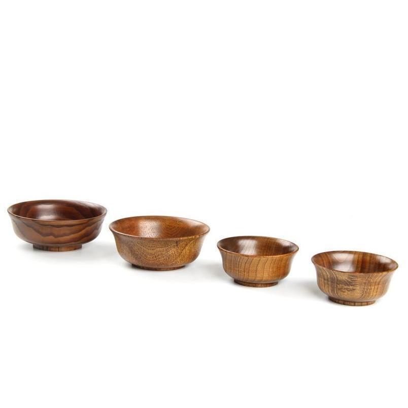 Натуральный джуюб деревянный шар суп рисовой лапша салат лапша обед коробка кухонные посуды для круглых детей Jllskj mywjqq