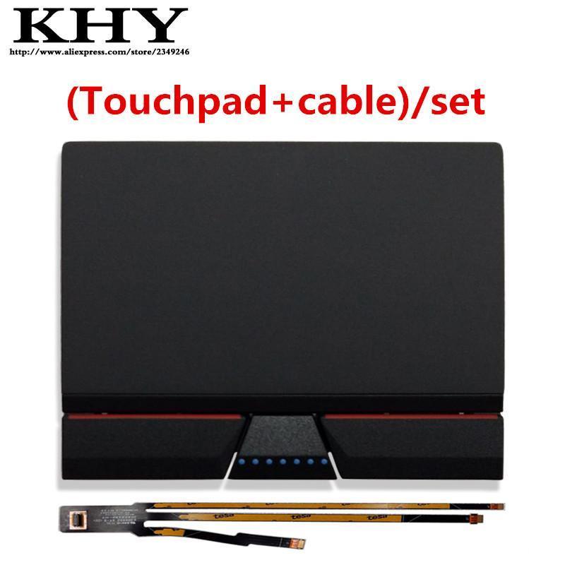 Nuevos originales de tres teclas del panel táctil con / por cable juegos para ThinkPad X270 X260 X250 X240 Series X240s
