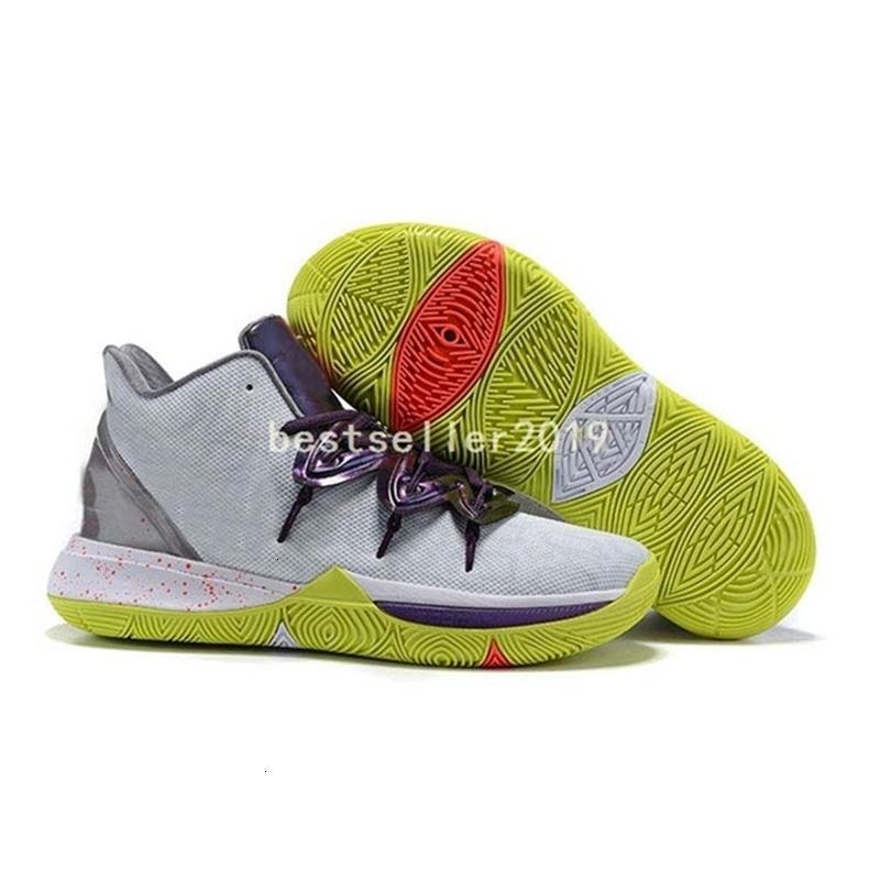 Mens calda Kyrie 5 scarpe da basket 2019 5s Designer Cesti Mamba Mentalità Rokit Ikhet Amici Oreo Black Magic des Chaussure Sneakers