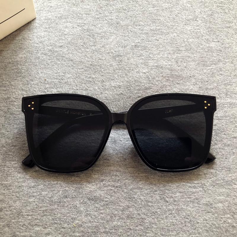 2020 Nuovo Corea Gentle disegno degli occhiali da sole di modo delle donne di GM ampio frame Occhiali da sole Vintage Lady qualità sole Molta gli occhiali