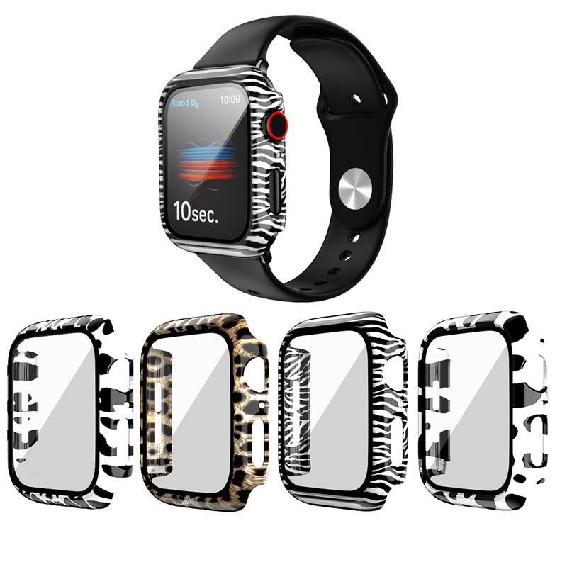 PC Watch Case pour Apple Watch Series 5 4 3 2 1 Case 42mm 38m 40mm Couverture de protection IWatch 44mm 44mm